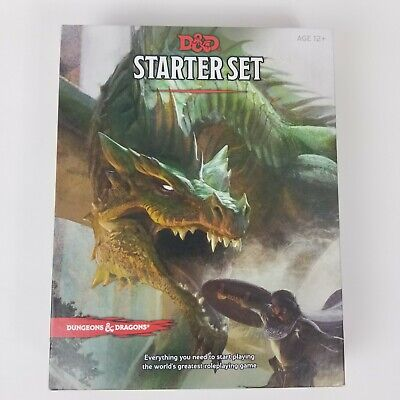 AU15.49 • Buy Dungeons & Dragons Starter Set D&D Dungeons And Dragons Game Adventure