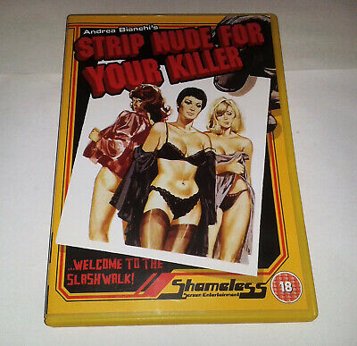 Andrea Bianchi's Strip Nude For Your Killer DVD Rated 18 Adults Only Shameless • 2.99£