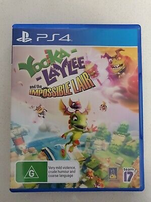 AU24 • Buy Ps4 Playstation 4 Yooka-Laylee And The Impossible Lair