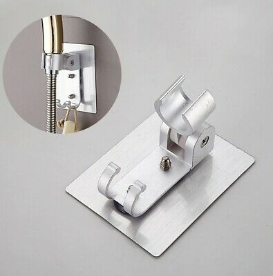 Shower Head Holder Adjustable Shower Bracket Strong Adhesive Wall Mount  • 5.99£