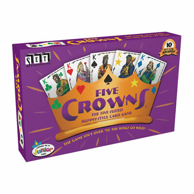 AU16.99 • Buy OZ Five Crowns Card Game 5 Suites Classic Original Family Party Rummy Style Play