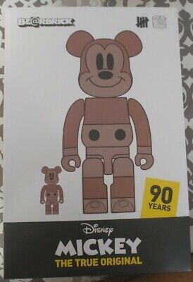$340 • Buy Disney Medicom Undefeated Bearbrick Mickey 400% 100% True Original Exhibit NYC