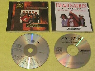 Imagination Hits Hot Sensational Re-Mixes & Kool & The Gang Singles 2 CD Albums • 6.49£
