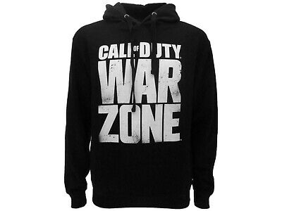£56.12 • Buy Sweatshirt Call Of Duty Warzone Original Wz Writing Official Hood Pocket Black