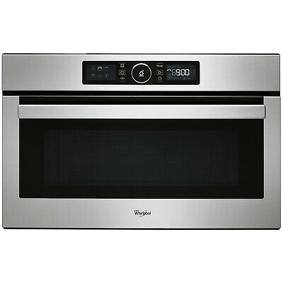 Whirlpool Built In AMW730/IX 31L 1000W Microwave With Grill - Stainless Steel • 389£