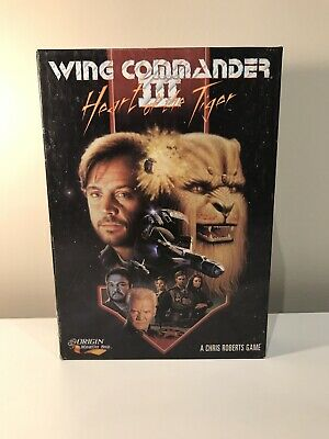 AU45 • Buy Wing Commander III 3 Heart Of The Tiger - DOS, 1994 - Origin - Big Box PC Game