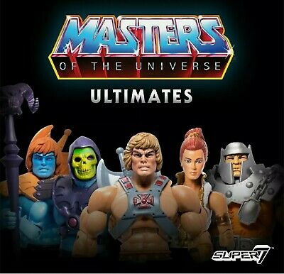 $899 • Buy SUPER7 MASTERS OF THE UNIVERSE CLASSICS ULTIMATES W1 SET OF 5 Sealed Case