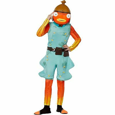 $ CDN80.16 • Buy Fortnite Fishstick Fish Stick Halloween Costume Belt & Mask Large 10 11 12 Youth