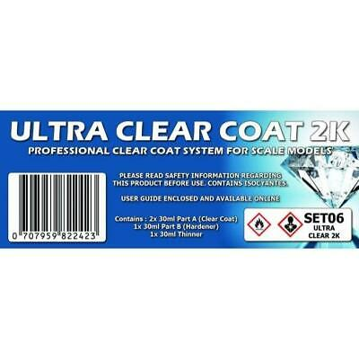 AU27.99 • Buy SMS SET06 Ultra Clear Coat 2K Colour Set Brand New