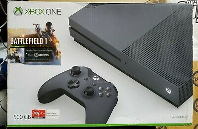 AU350 • Buy Xbox One S Console 500GB Storm Grey Special Edition