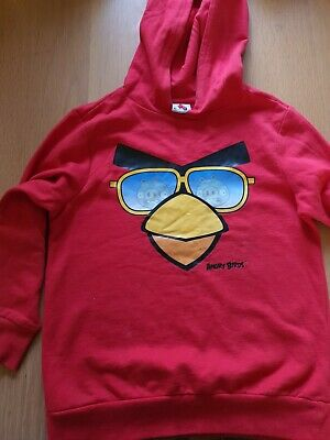 £10 • Buy Childs Angry Birds Hoodie Size 6-7 Years