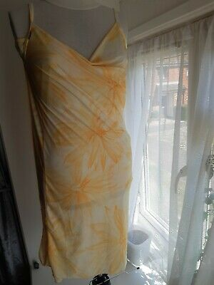 Saress Sunshine Yellow Beach Cover Up XL • 5£