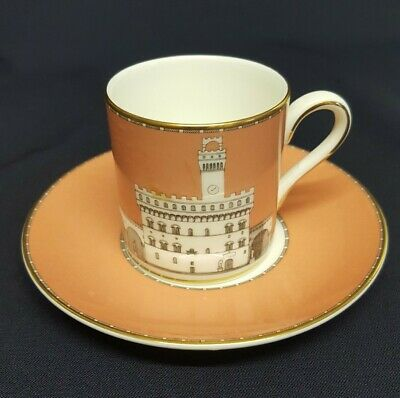 Wedgwood Grand Tour Palazzio Vecchio, Florence Cup And Saucer 1993 - RARE • 29.99£