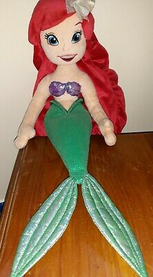Disney Store Exclusive Rare Stamped Ariel Mermaid Soft Plush Doll Toy Teddy  • 8.50£