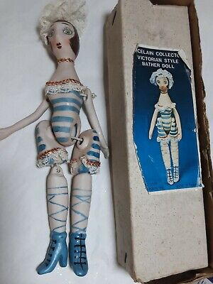 $ CDN12.80 • Buy Porcelain Collector  Victorian Style Unbranded Bather  10   Doll Boxed