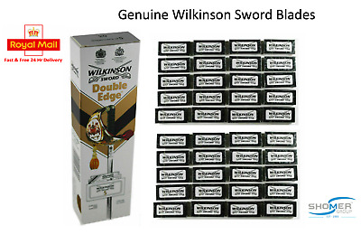 Wilkinson Sword Double Edge Razor Blades Barber Hairdresser Cut Throat Blades UK • 1.85£