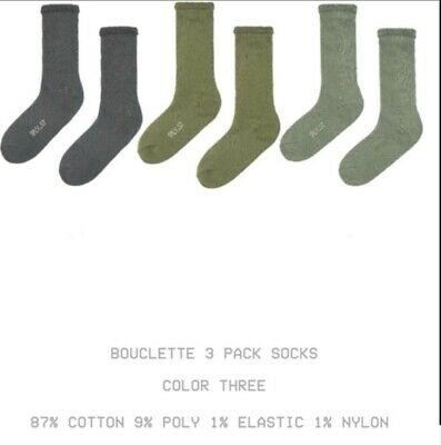 $ CDN159.55 • Buy Yeezy Season 7 Socks Set Of 3 ,Sold Out In Most Places ,Brand New In Plastic S/M