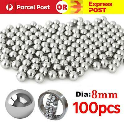 AU9.95 • Buy 100PCS Steel Loose Bearing Ball Replacement Parts 8mm Bike Bicycle Cycling