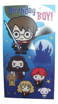 £3.79 • Buy Harry Potter Cartoon Style Birthday Card For A BOY By Danilo - HP012
