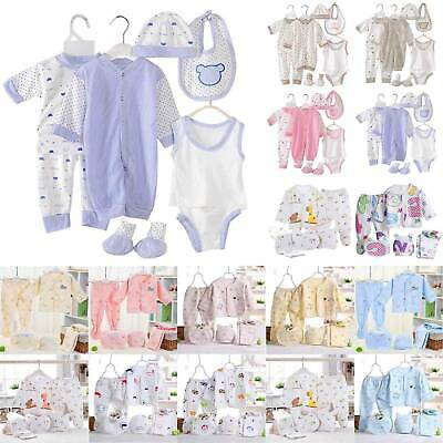 AU23.74 • Buy Newborn Infant Baby Casual Clothes Suit Boys Girls Tops Pants Outfits Set Winter