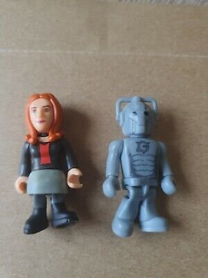 Dr Who Amy Pond And Cyberman Mini Figure • 0.99£