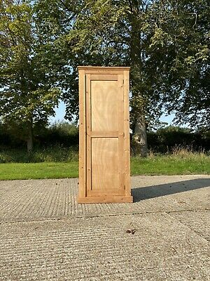 AU1260.37 • Buy Vintage Antique Shaker Style Pine Hall Storage Cupboard Cabinet
