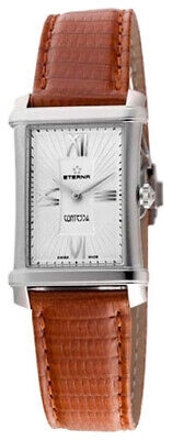 Eterna Women's 2410.41.65.1198 DIAMOND Contessa Two-Hands Leather Watch • 723.58£