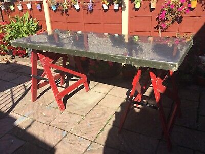 Stainless Steel Top Commercial Catering Table • 100£