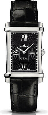 Eterna Women's 2410.41.45.1223 Contessa Black Dial Swiss Watch • 506.51£
