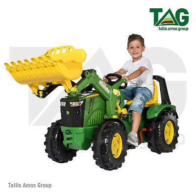 £285 • Buy John Deere Childrens 8400R Tractor With Front Loader 2-gear Shift -MCR651078000