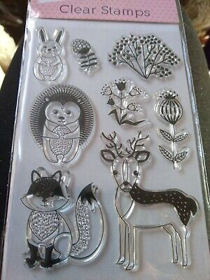 Woodland Clear Stamps Set • 0.99£