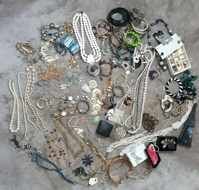 Large Vintage Modern Costume Jewellery Bundle Joblot Over 3kg • 9.99£