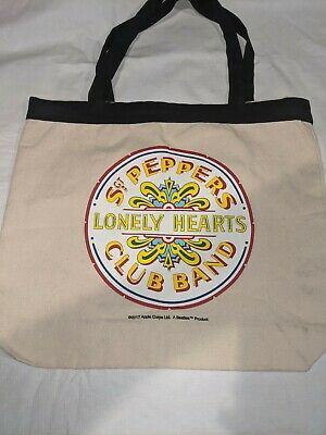 £14.54 • Buy PBS Sgt Peppers Lonely Hearts Club Band Beatles Book Bag