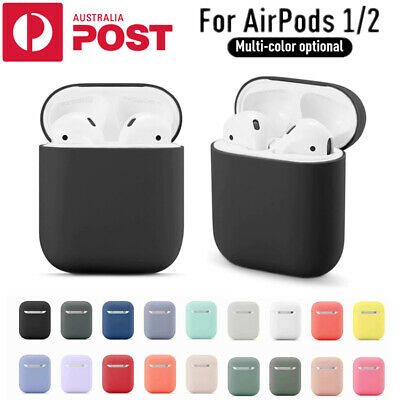 AU5.45 • Buy Apple Airpods Silicone Gel Case Shockproof Protective Cover Skin Case Airpod 1 2