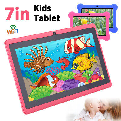 AU99.36 • Buy 7  WiFi Android Tablet PC Quad Core Kid Children Dual Camera Education Bundle