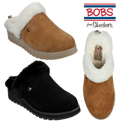 Skechers Womens Keepsake High Snow Magic Slippers Ladies Slip On Faux Fur Mules  • 38.98£