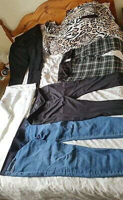 Bundle Of Maternity Jeans And Trousers Size 18 • 16£