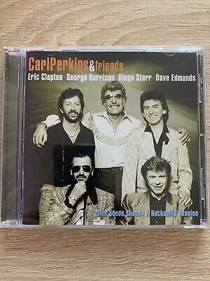Carl Perkins And Friends : Blue Suede Shoes: A Rockabilly Session CD (2006) • 3.50£