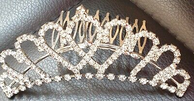 £8.99 • Buy Diamante Hair Grip ~ Glass Stones ~ Never Worn ~ Perfect For Prom Or Wedding