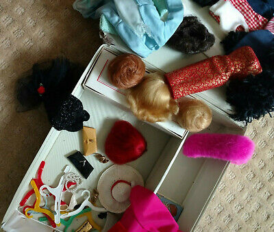 $ CDN300.01 • Buy Big Lot Vintage Barbie Doll, Case And Clothes 1960s - Nice Lot!