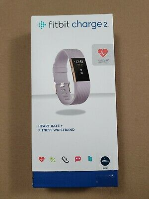 $ CDN28.34 • Buy Fitbit Charge 2 - Small - Lavender ~ Heart Rate + Fitness Wristband - Light Use