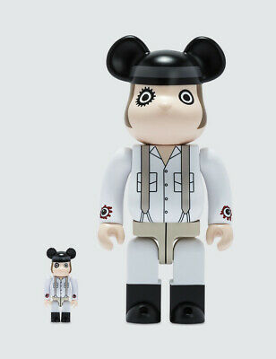 $224.99 • Buy Clockwork Orange Alex DeLarge 400% 100% Bearbrick Be@rbrick Stanley Kubrick Rare