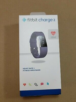 $ CDN19.11 • Buy Fitbit Charge 2 - Small - Blue - Heart Rate + Fitness Wristband- Open Box 1