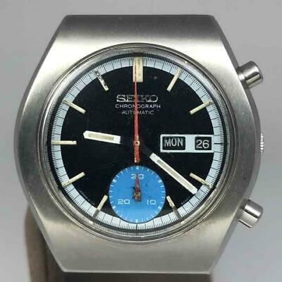 $ CDN660.62 • Buy Seiko 6139-8020 Chronograph Vintage Day Date Automatic Mens Watch Auth Works