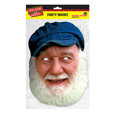 £2.99 • Buy Uncle Albert Party Mask - Only Fools Horses Face Card A4 Fancy Dress Mask-Arade