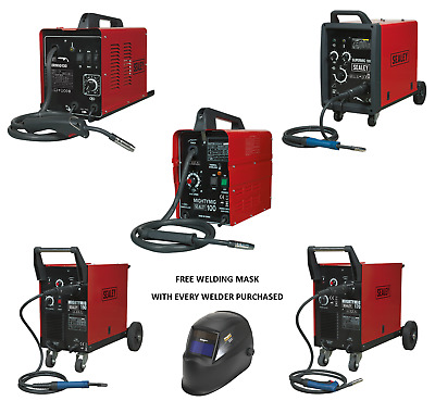 Sealey Mightymig Supermig 100 130 150 170 180 190 200 210 230 Amp Mig Welder • 349.95£
