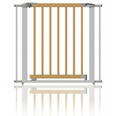 Clippasafe Gate Extendable Swing Shut Wood & Silver • 57.98£
