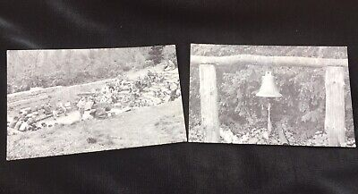 2 Postcards Camp Fire Hollow & Ships Bell Beaudesert Cannock Chase Staffordshire • 8.50£