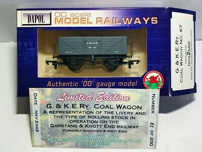 Dapol Limited Edition Coal Wagon G.& K.E.Ry No:67 • 49.99£