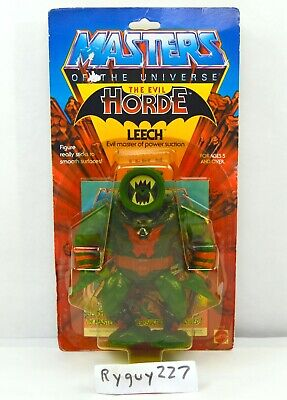 $165 • Buy MOTU, Leech, Masters Of The Universe, MOC, Carded, Figure, Sealed, He Man, MOSC